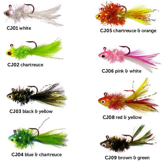Crappie jigs for Crappie fishing jig