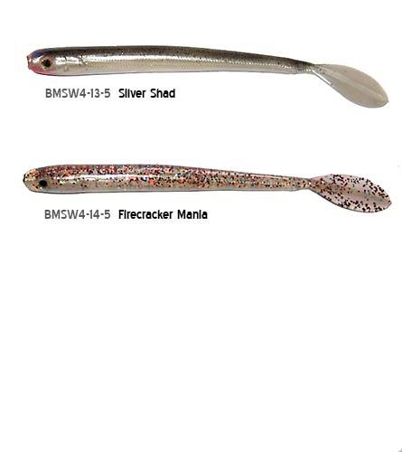 Bass Magic Shakey Tail Worms